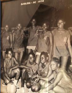 L'équipe du Djoliba en 1970